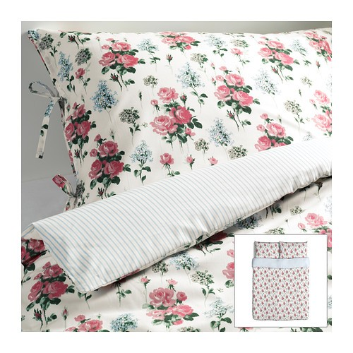 IKEA rose bedding
