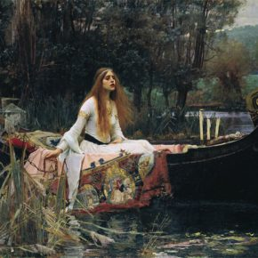William Waterhouse Lady of Shalott