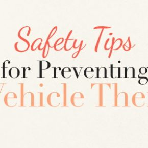 safety tips for preventing vehicle theft