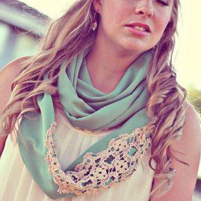 vintage lace wedding scarf