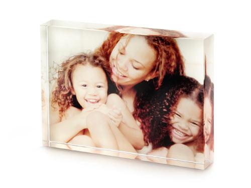 acrylic photo block