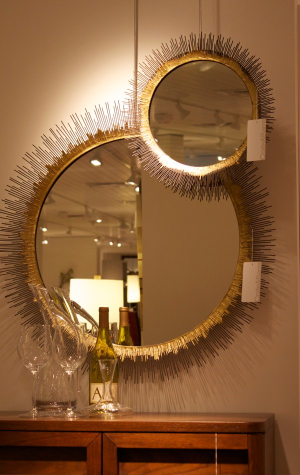 crate barrel mirror