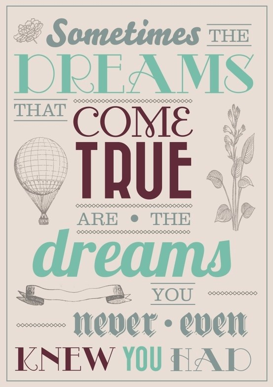 inspired dream quotes