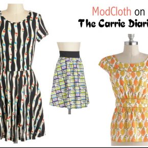 modcloth carrie diaries