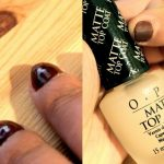 A Different Kind of Manicure — OPI Matte Top Coat