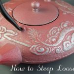How to Steep Loose Tea — with Old Dutch Cast Iron Tea Pot