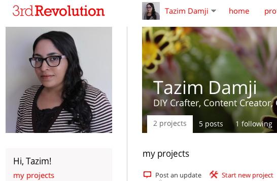 tazim 3rd revolution profile