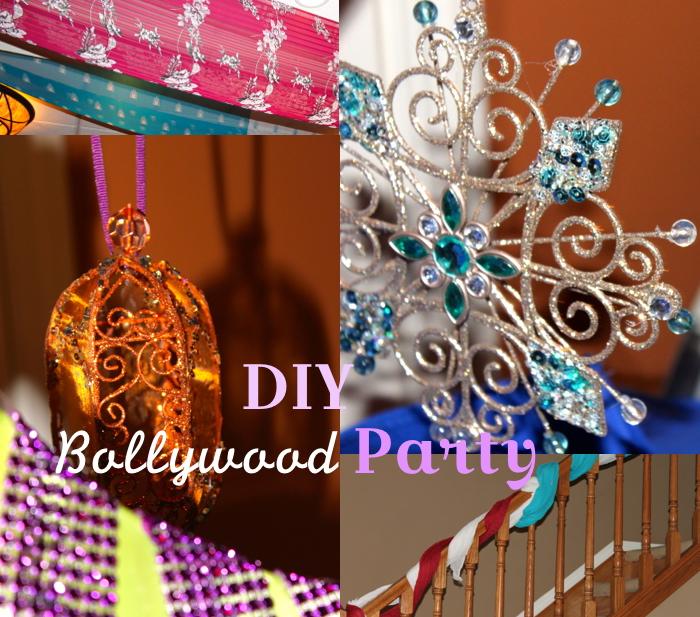 diy bollywood party