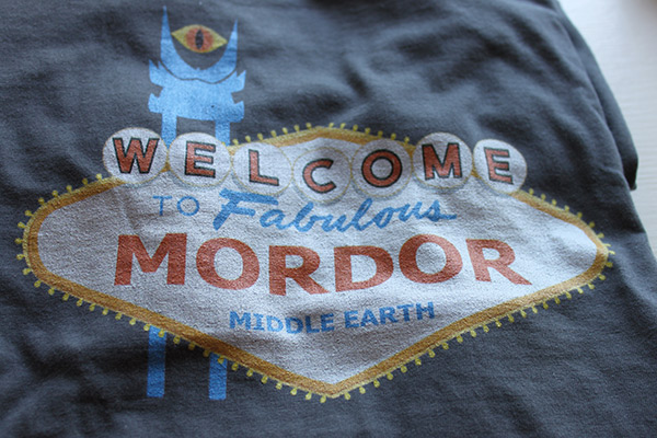 Mordor Red Bubble
