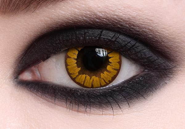 Vampire Gold Halloween Lenses