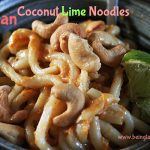 Vegan Coconut Lime & Peanut Noodles