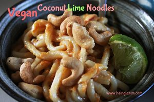 Vegan Coconut Lime Noodles