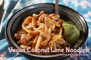 Coconut Lime Noodles