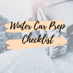 Winter Car Prep Checklist