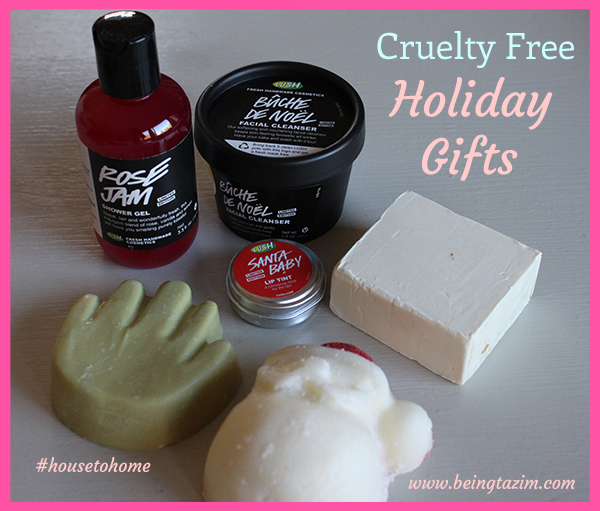 Lush Cosmetics Cruelty Free Holiday Gifts