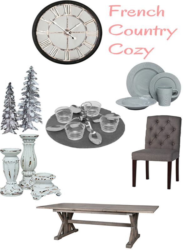 french country cozy