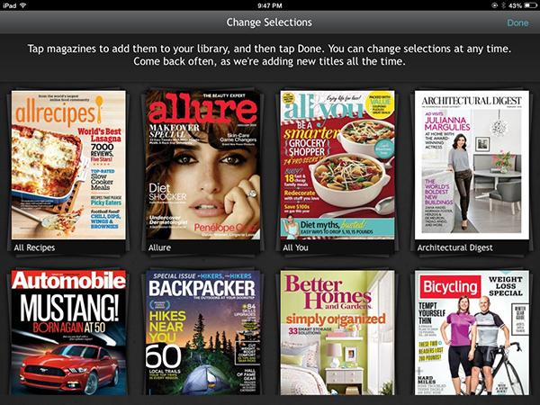 next issue app