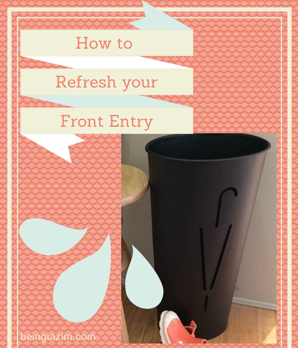 How to refresh your front entry
