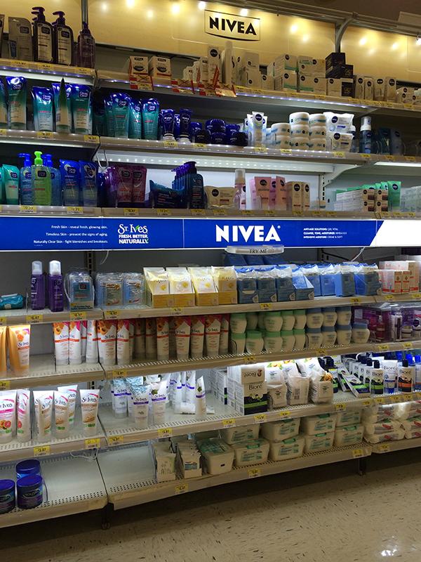 Nivea Wal-mart Shop