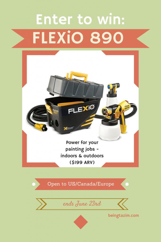 FLEXiO 890 Giveaway
