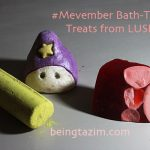 Celebrating #Mevember with Bath-Time Treats from LUSH