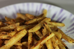 Garlic Jalapeno Chili Pepper French Fries