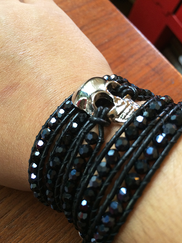 O.co Skull Bracelet