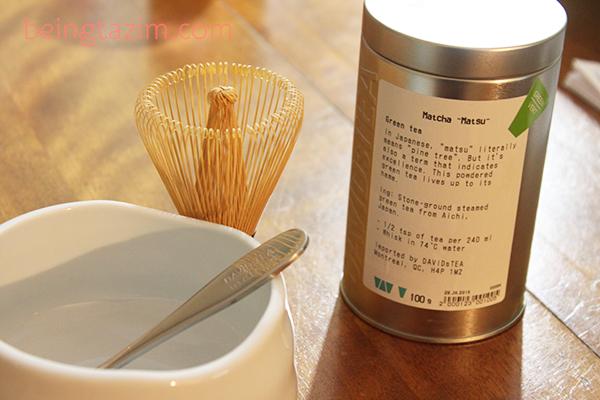 Matcha Ingredients