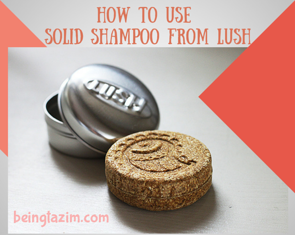 How to Use Solid Shampoo from LUSH