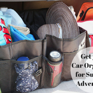 Get your car organized for summer adventures
