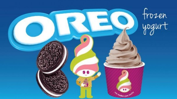 Oreo Frozen Yogurt