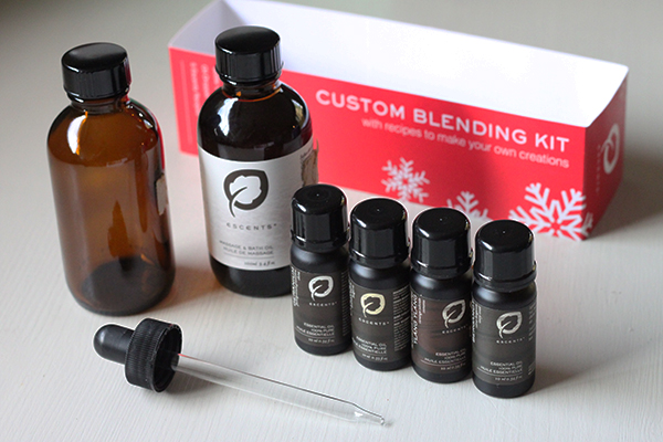 Custom blending kit