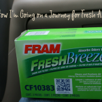 How I'm Going on a Journey for Fresh Air #FRAMFresh