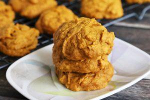Easy Vegan Pumpkin Cookies