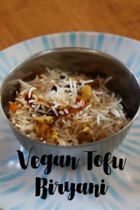 Vegan Tofu Biryani