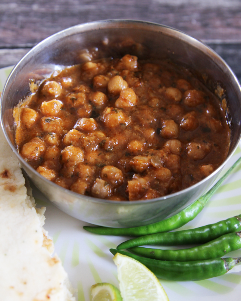 Quick Vegan Channa Masala