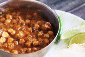 Quick Vegan Chana Masala