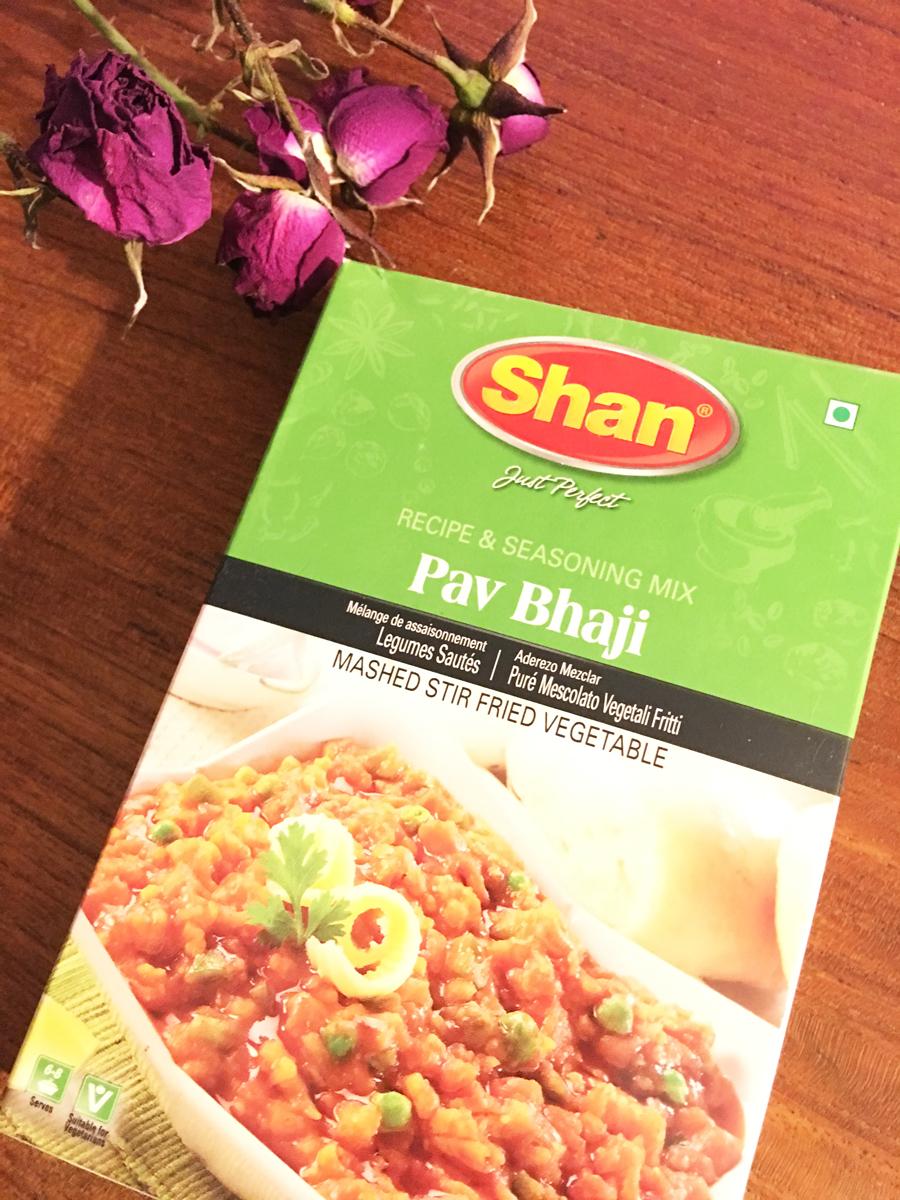 Vegan Pav Bhaji