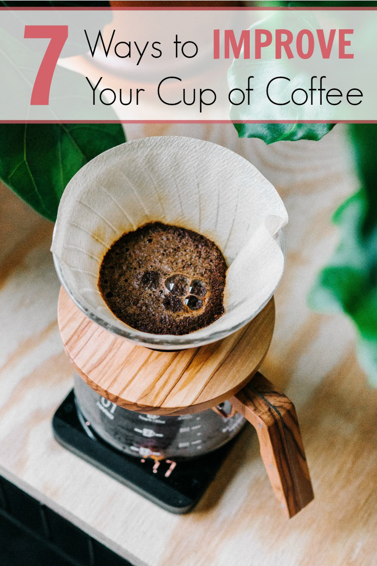 improve your cup of coffee
