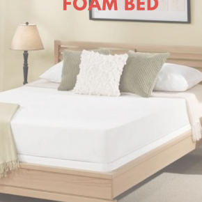 Top 6 Healthy Benefits of Sleeping on a Foam Bed
