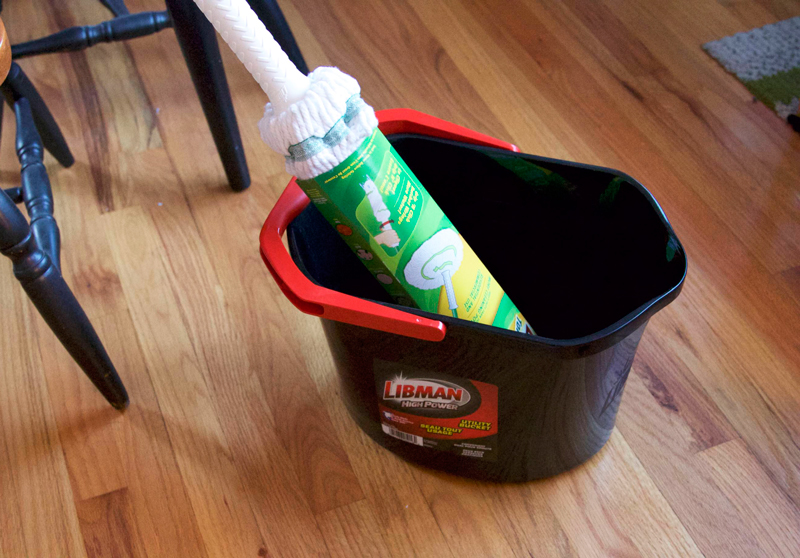 Libman spring cleaning with Libman Tornado Mop