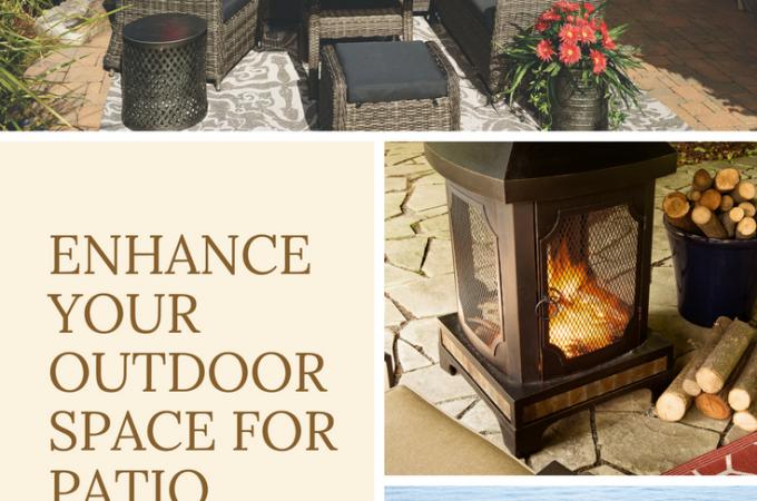 Enhance your Outdoor Space for Patio Season
