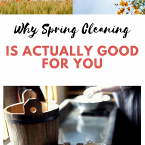 Why Spring Cleaning Is Actually Good For You