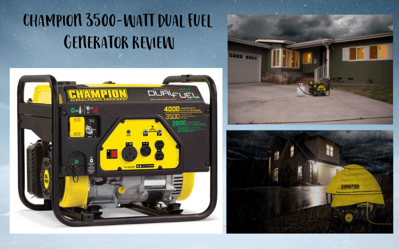Champion 3500-Watt Dual Fuel Generator Review