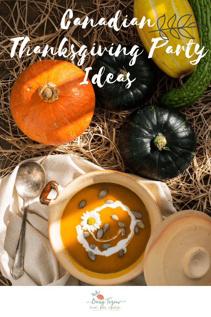 Canadian Thanksgiving Party Ideas