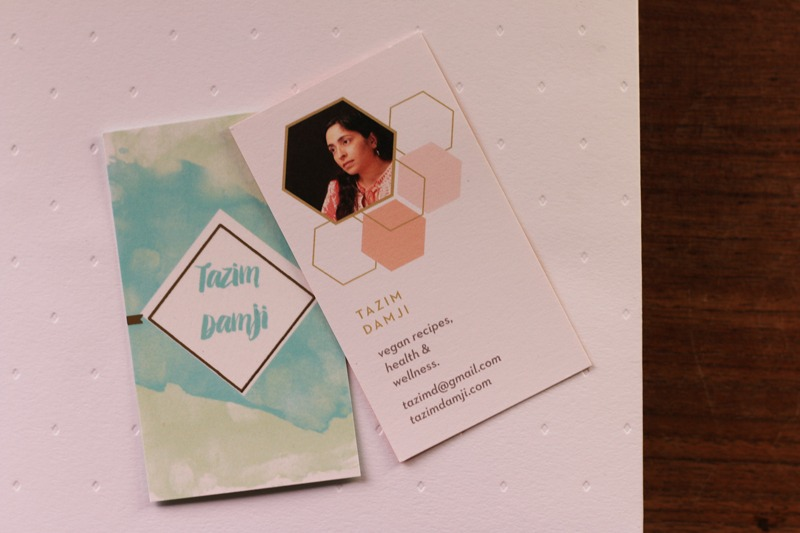 business cards from basic invite