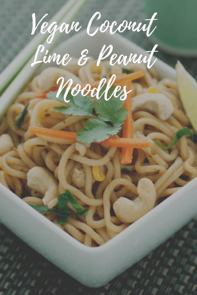 Vegan Coconut Lime & Peanut Noodles