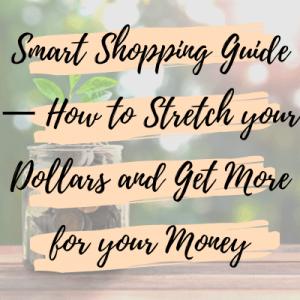 smart shopping guide